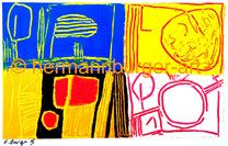 By Hermann L. Burger Artists, Bright Paintings, Abstract, Kunst, Artist
