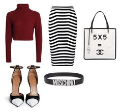 """""""Untitled #187"""" by shellynrl27 on Polyvore featuring Alexander Wang, Givenchy, Chanel and Moschino"""