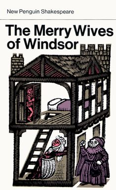 The Merry Wives of Windsor- William Shakespeare, illustrated by David Gentleman