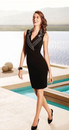 Joseph Ribkoff Dress style-30456 available at Bellissima