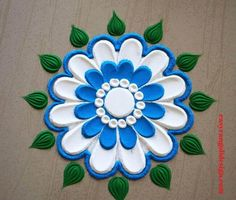 50 Swaminarayan Jayanti Rangoli Design (ideas) that you can make yourself or get it made during any occasion on the living room or courtyard floors. Simple Rangoli Designs Images, Beautiful Rangoli Designs, Rangoli Ideas, Easy Rangoli, Latest Rangoli, Free Hand Rangoli Design, Diwali Craft, Colored Sand, Diwali Decorations