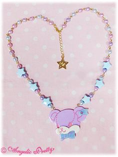 Angelic Pretty / Accessories / Shy Bear Face Necklace