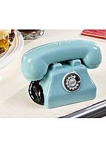 Retroflections Salt & Pepper Set Telephone De cerámica y excelente calidad!