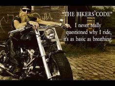 """I never really questioned why I ride, it's as basic as breathing."""