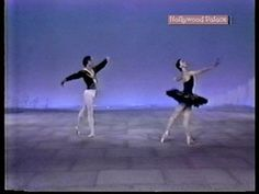 Margo Fonteyn and Rudolf Nureyev at the Hollywood Palace with Fred Astaire