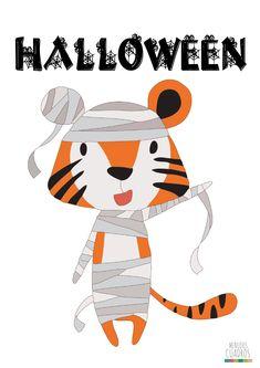 Descargables Gratuitos para Halloween de Menudos Cuadros