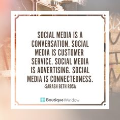 With social media being so multifaceted it's important to take time and realize it's not simply just a marketing tool anymore.