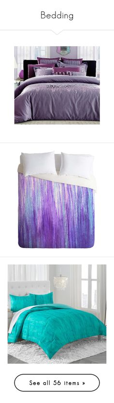 """Bedding"" by xxkyokireinxx ❤ liked on Polyvore featuring home, bed & bath, bedding, duvet covers, purple queen bedding sets, egyptian cotton bedding sets, egyptian cotton bedding, egyptian cotton duvet set, purple queen bedding and purple bedding"