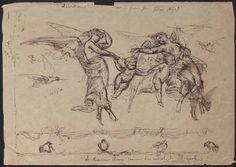 J. Magerotte sketch for Samuel P. Avery, 1857. Samuel Putnam Avery Papers. The Metropolitan Museum of Art, New York. Thomas J. Watson Library (b17194477)