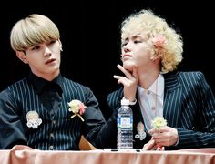 Hansol and B-Joo ♥ Topp Dogg