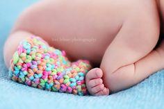 Crochet Legwarmers & Headband Set #baby #crochet #props