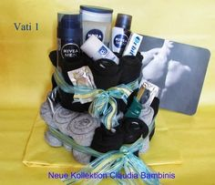 Sockentorte: claudiabambinis.at Cash Gifts, Diy Presents, Kids