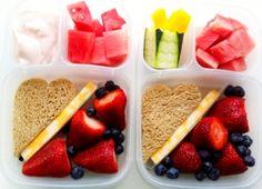 Fruity Bento #easylunchboxes #bento #vegetarian