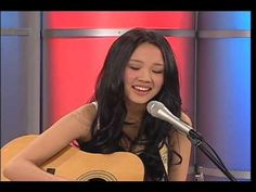 Thia Megia☼very pretty song♥ she has a beautiful voice and her own style, especially for someone so young! She was voted off American Idol last year 2010 : ( This is an original song from her and it is pretty awesome!