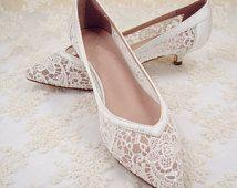 Wedding Shoes, Lace Bridal Shoes, Lace Wedding Shoes, Bridesmaid Shoes, Hollowed Lace Shoes, Floral Lace Bridal Shoes, Prom Shoes