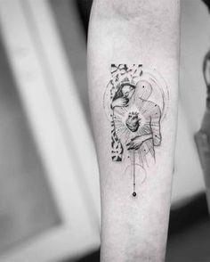 Abstrakte Vision - John Monteiro - Tatoo ł Henna - - Abstrakte Vision – John Monteiro – Tatoo ł Henna – Abstrakte Vision – John Monteiro – Tatoo ł Henna – Body Art Tattoos, New Tattoos, Small Tattoos, Sleeve Tattoos, Movie Tattoos, Tattoo Modern, Tigh Tattoo, Tattoo Key, Hirsch Tattoo
