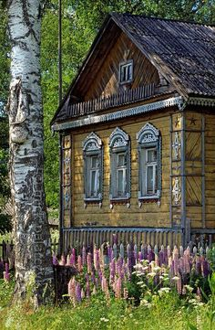 Russian wooden house City & Architecture