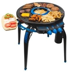 "Propane ""Party Hub"" Grill 