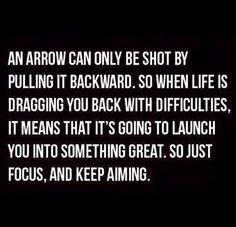 Keep focused, keep strong