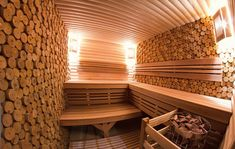 "Баня ""по-белому"" с декорированными стенками Sauna House, Sauna Room, Saunas, Piscina Spa, Sauna Shower, Portable Sauna, Outdoor Sauna, Sauna Design, Finnish Sauna"