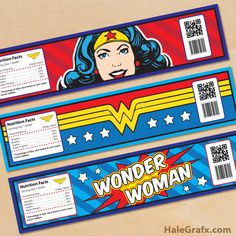 Party Birthday Women Free Printable 52 Ideas For 2019 Wonder Woman Birthday, Wonder Woman Party, Birthday Woman, 5th Birthday, Birthday Parties, Party Labels, Party Printables, Anniversaire Wonder Woman, Ideas