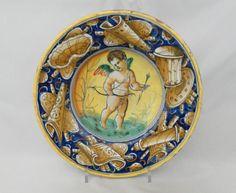 Sistine Chapel, Painted Plates, Glazes For Pottery, Porcelain Ceramics, 16th Century, Decorative Plates, Italy, Moonlight, Jars