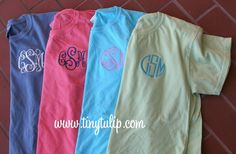 Monogrammed Short Sleeve T Shirt