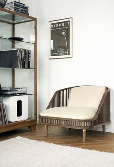 KBH Chair is a minimal chair created by New York-based designer Søren Rose Studio in collaboration with Sonos.
