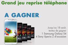 Gagnez 1 téléphone Samsung et 4 téléphones Sony avec BandYou ! Réponse à la question posée : 48 heures. Lien Facebook : https://www.facebook.com/BAndYou/app_553174164726188 #gagner #telephone #samsung #sony #bandyou
