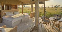 Roving Bushtops ist ein mobiles Luxus Zeltcamp im Herzen der Serengeti. Erleben Sie eine Tansania Safari auf höchstem Niveau mit Genuss Touren.