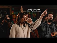 Jesus Paid It All - Kim Walker-Smith | Worship Circle Hymns - YouTube Praise Songs, Worship Songs, All Songs, Praise And Worship, Praise God, Walker Smith, Kim Walker, Jesus Paid It All, Watch And Pray