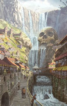 The River, Jahmani Campbell on ArtStation at https://www.artstation.com/artwork/DxyXA
