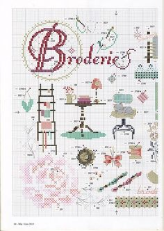"""Photo from album """"Creation Point de Croix on Yandex. Mini Cross Stitch, Cross Stitch Animals, Cross Stitch Charts, Cross Stitch Designs, Cross Stitch Patterns, Cross Stitching, Cross Stitch Embroidery, Le Point, Sewing For Beginners"""