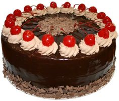 Black Forest Cake Black Forest Cake, Easy Cake Decorating, Bakeries, Cupcake Cakes, Chocolate, History, Places, Desserts, Food