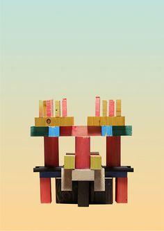 Geometric Sculptures by Spanish Artist Cristian Montesinos