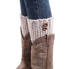 BeautyIn Womens Short Crochet Leg Warmers Knitted Buttons... https://www.amazon.com/dp/B017SNIJQS/ref=cm_sw_r_pi_dp_x_XnGoybN7T3TET