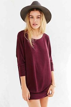 Kimchi Blue Wideneck Tunic - Urban Outfitters 49.00