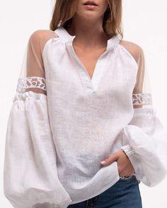 ivrose / Mesh Long Sleeve V Neck Blouse Blouse Styles, Blouse Designs, Mode Kimono, Trend Fashion, Punk Fashion, Lolita Fashion, Style Fashion, Mesh Long Sleeve, Plus Size Blouses