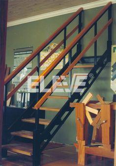 Modelos de escaleras on pinterest for Escalera un tramo