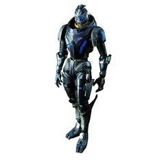Amazon.com: Square Enix Mass Effect 3: Play Arts Kai: Garrus Vakarian Action Figure: Toys & Games