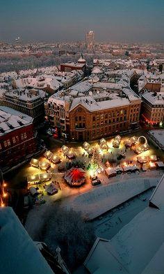 Christmas Market, DomSquare, Riga, Latvia