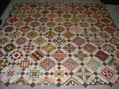 Nearly Insane quilt top - will need to finish my Dear Jane first.