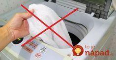 Bez prania a vyvárania: Zázračný tip, vďaka ktorému budú biele uteráky opäť žiarivo biele!