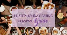 How To Not Eat Everything On The Thanksgiving Table (in 11 Steps) - Beating Binge Eating: Recovery Coach