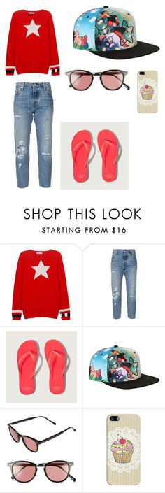 """""""Steven Universe Outfit"""" by indigofudge on Polyvore featuring Bella Freud, Levi's, Abercrombie & Fitch, Steven Alan and Casetify"""