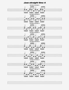 120 Ideas De Partituras Drums Partituras Bateria Drums Percusión