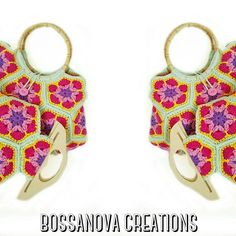 #bossanovacreations #creation #creativity #loveit #handmade #hechoamano #handmadebag #crochet #crochetaddict #crocheting #crochetbag #picoftheday #photooftheday #knitbag #knittersofinstagram #knittingaddict #knit #ganchillo #ganchilloterapia #ganchillera #cool #fashioncrochet #bags #yarnlove #yarn #artesano #artesanal #craft #summer