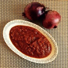 Le ricette di Cukò: SALSA ROSSA AGRODOLCE ALLE CIPOLLE