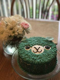 Llama/Alpaca Birthday Cake