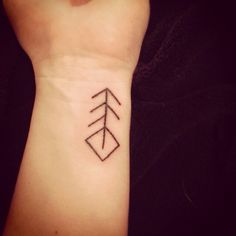 Viking Rune Symbol for music, I want this tattoo on my ankle